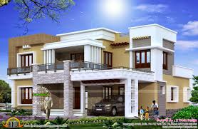 Modern 5 Bedroom House Plans Different Views Of 2800 Sq Ft Modern Home Kerala Home Design