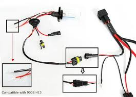 how to install hid conversion kit relay harness wiring hid relay harness