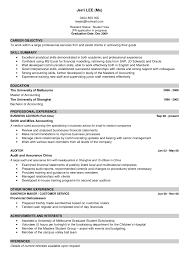 Resume How To Write Good Resume Examples Resumes Perfect Example