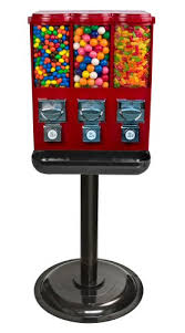 Candy Vending Machines Impressive Triple Time Candy Vending Machine RED EBay