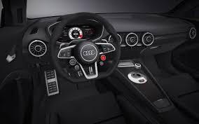 audi 2014 interior. 2014 audi tt quattro sport concept interior 1 2560x1600 wallpaper