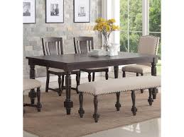 Winners Only Xcalibur Transitional Rectangular Dining Table W 18