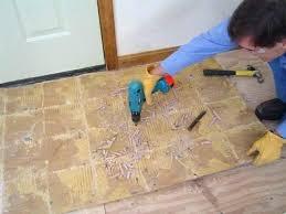 how to remove vinyl tiles from concrete floor remove tile from concrete how to remove vinyl