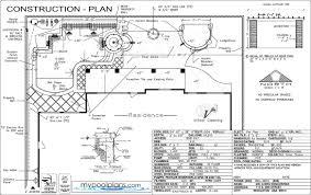 Sample Plan Swimming Pool Construction Plans Las Vegas Nevada 11