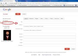 Manually Add Your Publication Article To Google Scholar Step