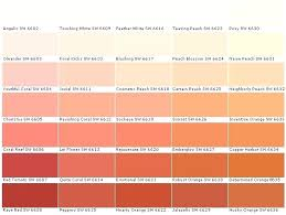 Sherwin Williams Color Chart Coral Paintlor Bedroom Bestlors Wheel Home Improvement