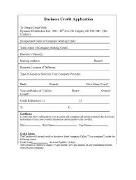 How To Check Credit References For Business 40 Free Credit Application Form Templates Samples