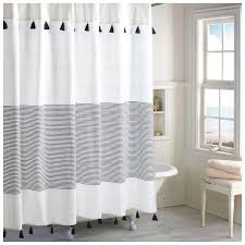 gray and blue shower curtain. peri home panama stripe shower curtain ($30) ❤ liked on polyvore featuring home, gray and blue c