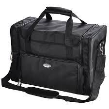 aw 1200d pro black soft makeup train bag case pockets artist cosmetic organizer box 0
