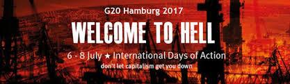 Resultado de imagen para Hamburgo muestra que la protesta pública