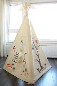 ... Marvelous Pictures Of Kid Teepee Design For Kid Play Room Decoration :  Interesting Kid Play Room ...