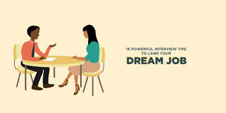 Interview Tips 16 Best Interview Tips To Land Your Dream Job Infographic