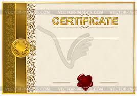 шаблон сертификата диплома векторный клипарт royalty  Элегантный шаблон сертификата диплома векторный клипарт royalty