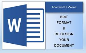 Writer of the document, cite the government agency that issued the document as author. Create Edit Format Your Word Document By Badhru Fiverr