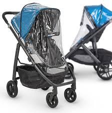 uppababy vista cruz stroller seat rain cover all models