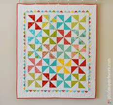 Pinwheel Baby Quilt Pattern