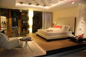 Large Master Bedroom Design Built In Bedroom Platform With Low Ceiling Master Bedrooms
