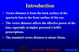 Vertex Distance Chart Ppt Vertex Distance And Calculations Powerpoint