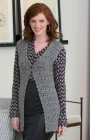 Free Crochet Vest Patterns Impressive Fifteen Free Crochet Vest Patterns Cre48tion Crochet
