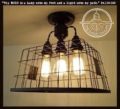 edison bulb lighting fixtures. Basket CEILING LIGHT Shown With Edison Bulbs - The Lamp Goods Bulb Lighting Fixtures