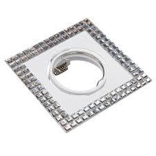 <b>Точечный светильник поворотный</b> Миррор белый зеркальный ...