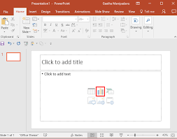 Embed Chart In Powerpoint Inserting Charts In Powerpoint 2016 For Windows