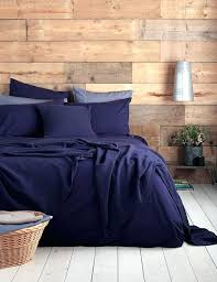 navy and white duvet covers navy blue bedding in a rustic bedroom our ever so soft
