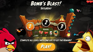 Angry Birds 2 Bomb Blast Daily Challenge Stage 1,2 Android Gameplay Video  2020 - YouTube