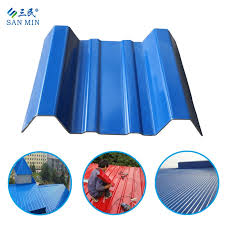 weather resistant pvc roof sheet with asa type 960