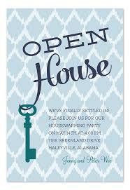 Invitation To Open House Open House Key Moving Announcement Party Invitation On The Move