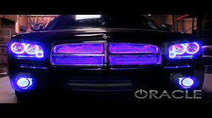 2012 Charger Halo Lights Dodge Charger Colorshift Oracle Halo Kit And V2 Scanner By Advanced Automotive Concepts