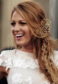 beach wedding bohemian hairstyle ideas celebrity messy side braid hairstyle