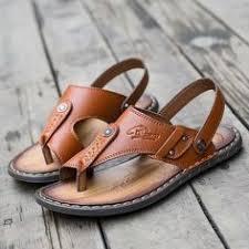 2018 <b>LAISUMK Summer</b> Genuine Leather <b>Sandals Men</b> Casual ...