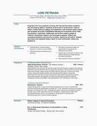 Tutor Resume Sample Teacher Resume Example Best Fresh Resume 0d Good