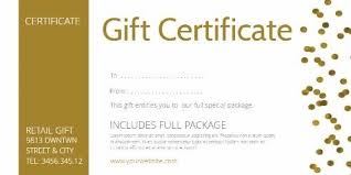 Gift Voucher Free Template Create Personalized Gift Certificate And Vouchers With Design Wizard