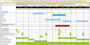 An Annual Marketing Timeline For Your Business Free Timeline