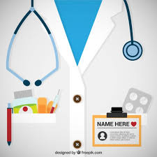 doctor template free download doctor pass template vector free download