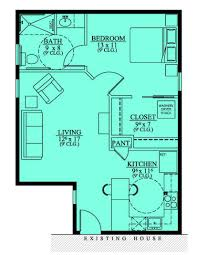 Handicap Accessible Mother In Law Suite  House Plans - Handicap accessible bathroom floor plans