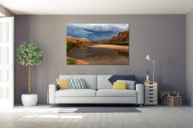 amidst the monsoon moab utah landscape wall art
