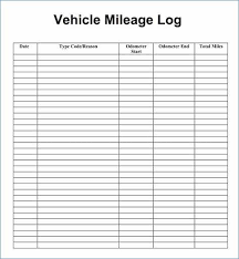 Mileage Spreadsheet For Taxes Best Of 30 Free Mileage Log Template
