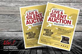 silent auction program template live auction program template best and professional templates