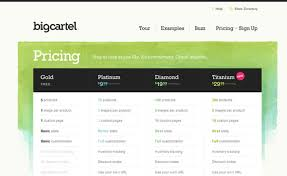Pricing Chart Examples Pricing Tables Best Practices Tips And Inspiration