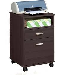 mobile printer stand. Beautiful Stand SINTECHNO SID11491 Mobile Printer Stand With Storage File Cabinet To E