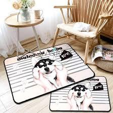 cute pattern area rug funny dog stripe non slip mat floor carpet rugs furniture design jobs non slip area rugs