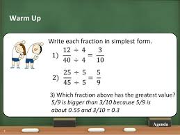 ratios in fraction form ratio powerpoint
