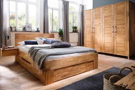 Schlafzimmer Massivholz Zent Wildeiche Geölt Sc12