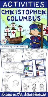 Christopher Columbus Columbus Day Activities And