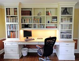 custom desks for home office. astonishing white custom bookshelves with desk and drawers cabinet also black swivel office chair on wood desks for home r