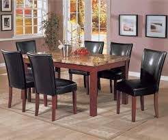 Marble Top Kitchen Table Set Coaster Telegraph Marble Top Dining Table 120311