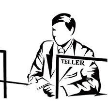 bank teller cartoon resume for bank teller